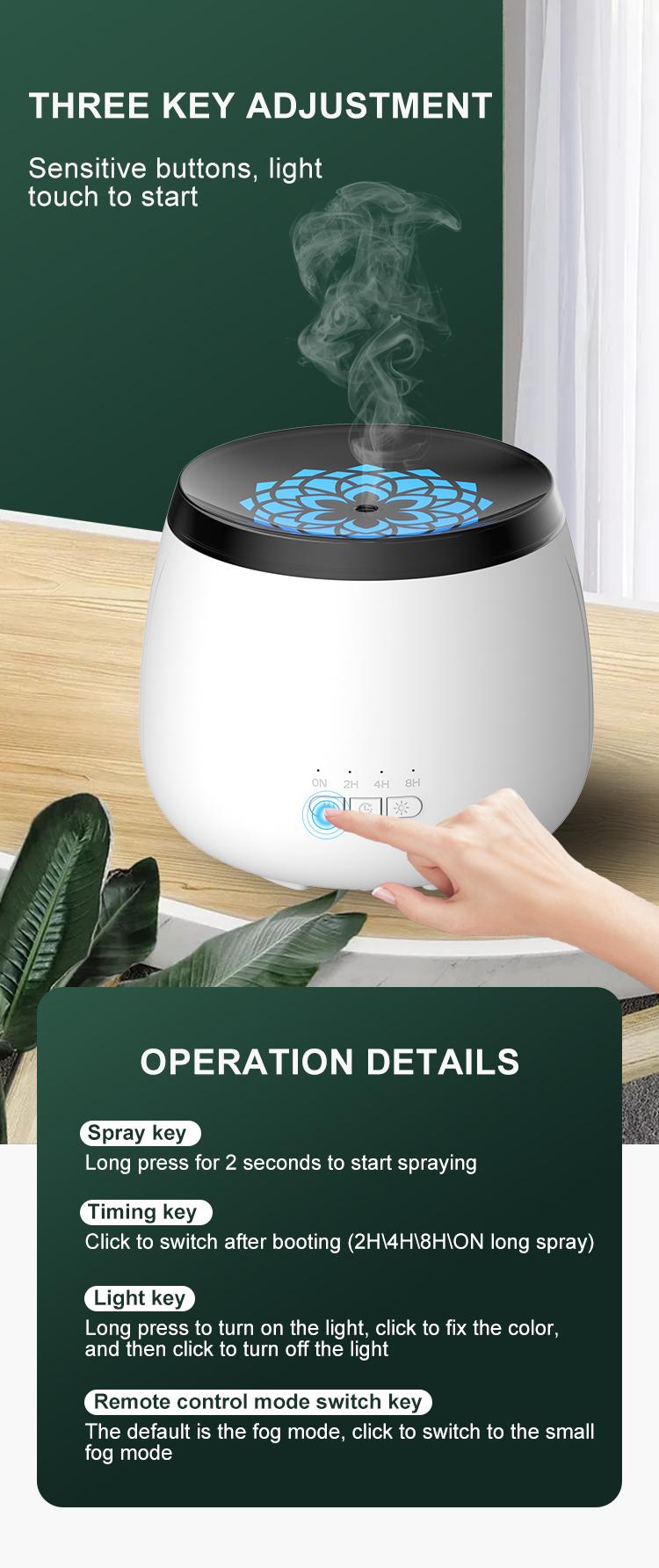 New 600ml Ultrasonic Electric Aromatherapy Diffuser