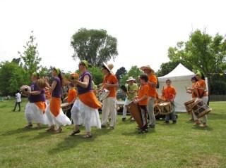 Des percussions