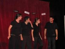 Soirée d'improvisation théâtrale avec Les Transbordeurs le 29 novembre