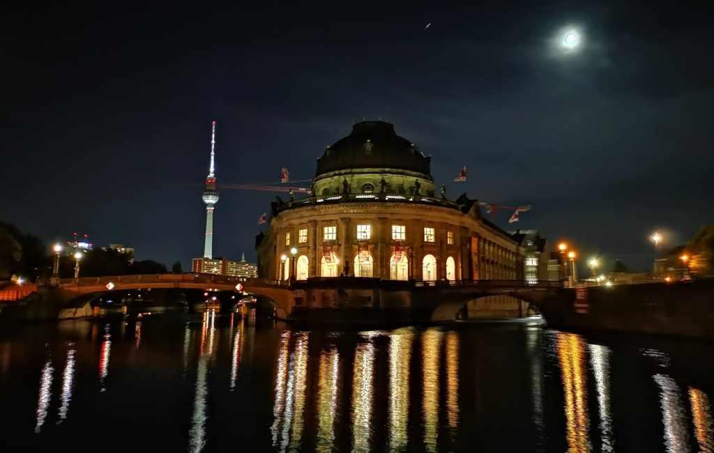 Berlín de noche. Galería de fotos