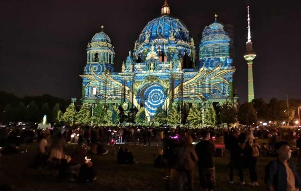 Festival of lights Berlin 2020
