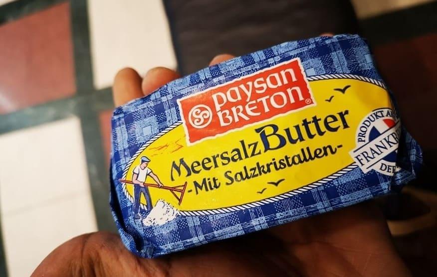 Cocina alemana: La mantequilla