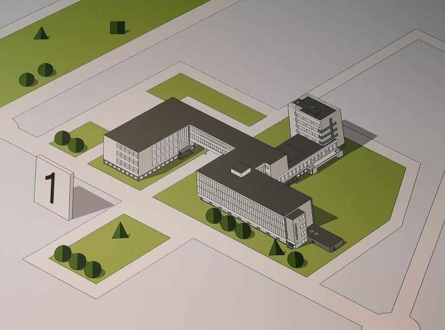 Escuela de arquitectura Bauhaus