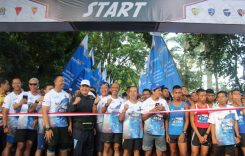 Gelaran acara Air Force Run 2019 di Lanud Abdul Rachman Saleh Malang