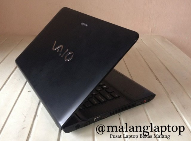 jual laptop second sony vaio