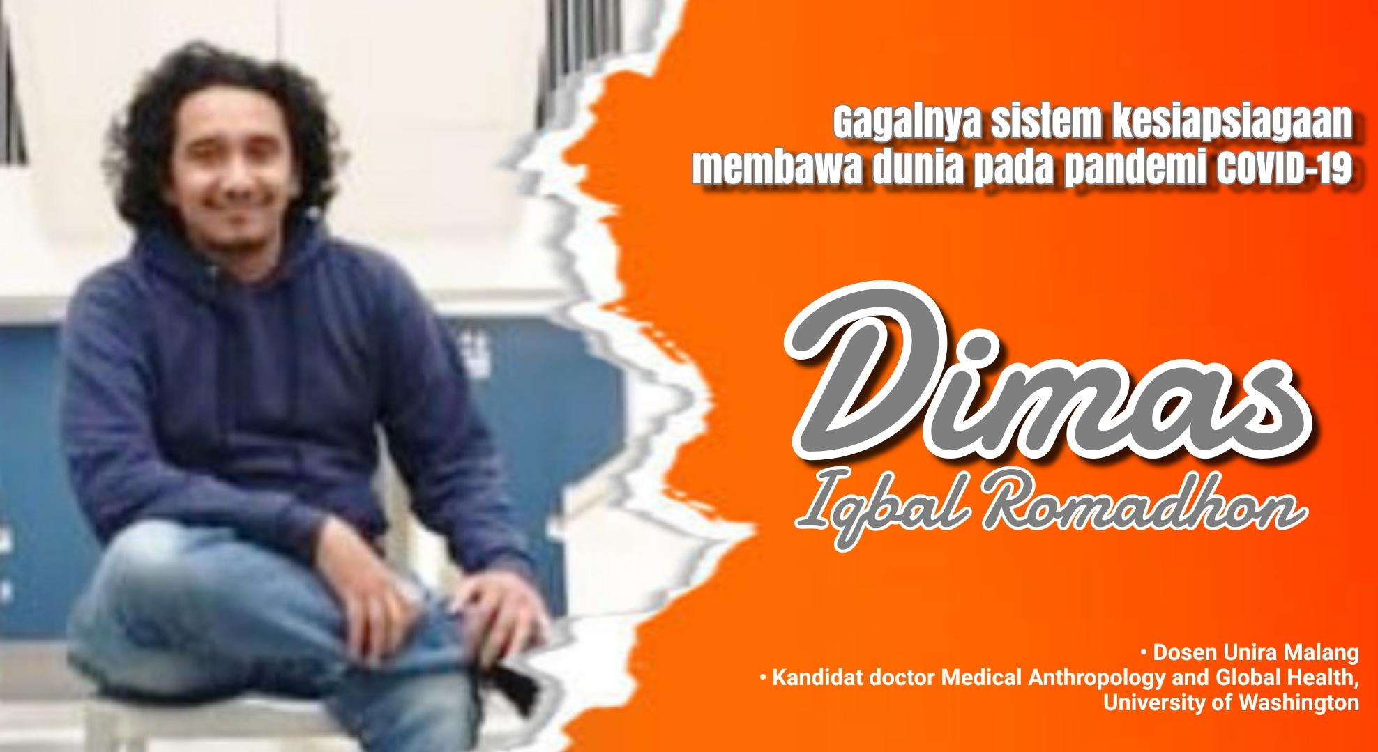 Foto : Dimas Iqbal Ramadlon, Dosen Unira Malang