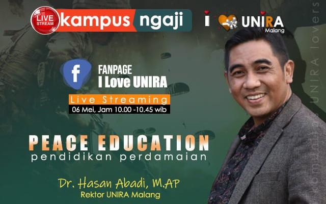 Foto : Rektor Unira Malang, Dr. Hasan Abadi