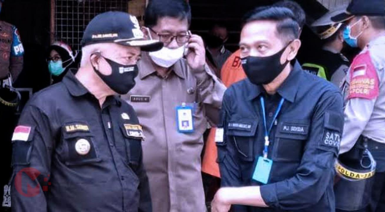 Foto : Wahyu Hidayat, Om Sekda Kab Malang saat bersama Bupati Malang, HM Sanusi