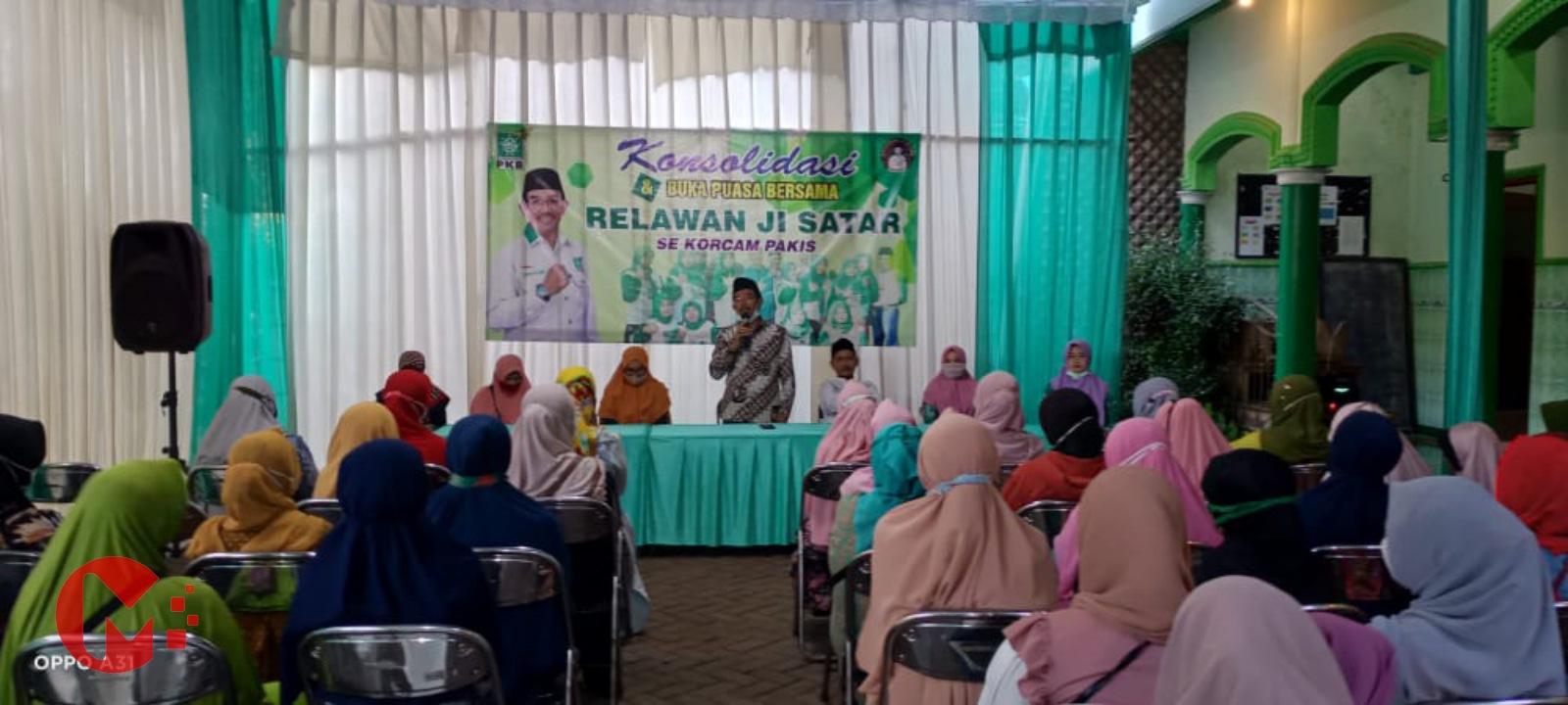 Foto : H. Abdulloh Sataar Laporkan kinerja dan konsolidasi kader