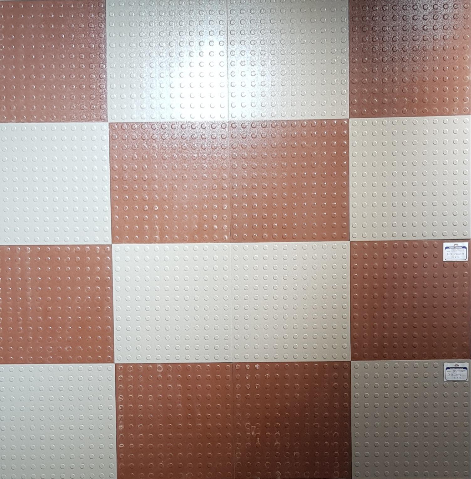 12 x 12 parking tiles spentagon dots