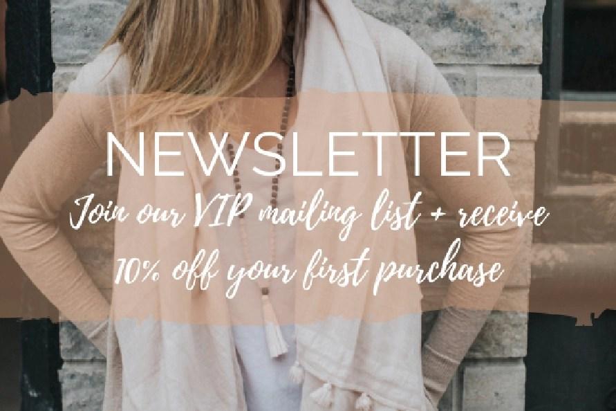 Mala Beads & Bracelets - Yoga Jewelry By MalaRae - Newsletter Sign Up Discount Code