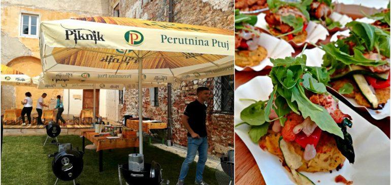 FOOD CARDS from SLOVENIA 2.dan – Piknik u Ptuju, Kodila, Lušt, Diana hotel, Passero