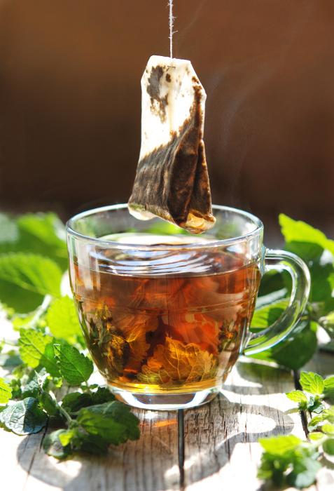 Gorąca herbata ziołowa 58