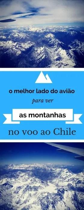 Qual o melhor lado do avião para ver as cordilheiras no voo para o Chile?   Malas e Panelas