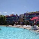 O poder da piscina de hotel