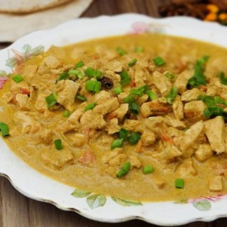 Receita de prato Indiano/Balti