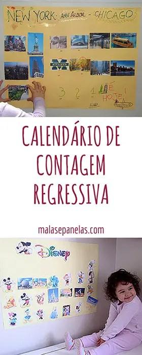 Calendário de Contagem Regressiva | Malas e Panelas