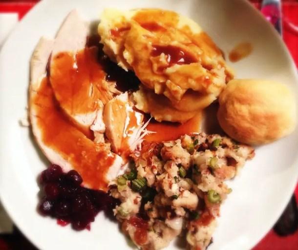 Prato de Thanksgiving