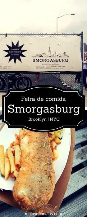 Smorgasburg no Brooklyn em NY