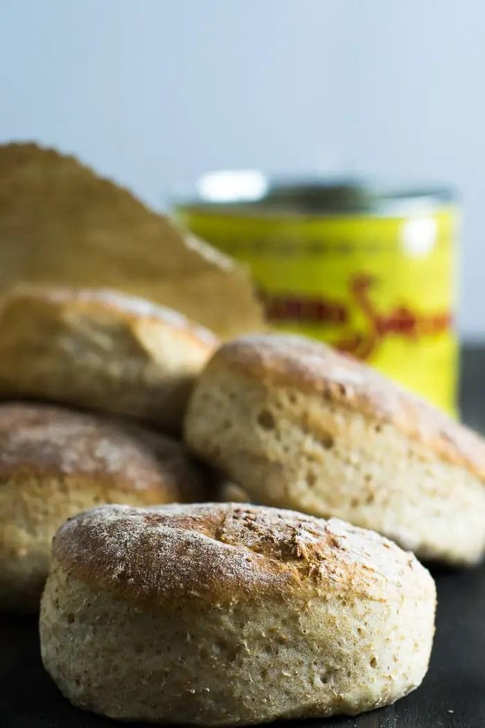 Pão Integral de Hambúrguer | Malas e Panelas