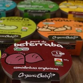 Organic Baby – comidinha 100% orgânica