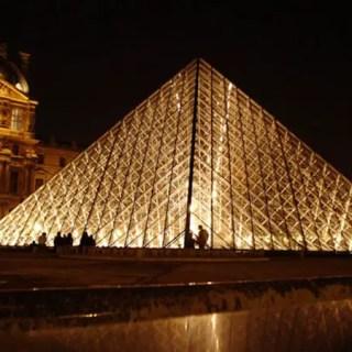 Imagem da Semana – Louvre à noite