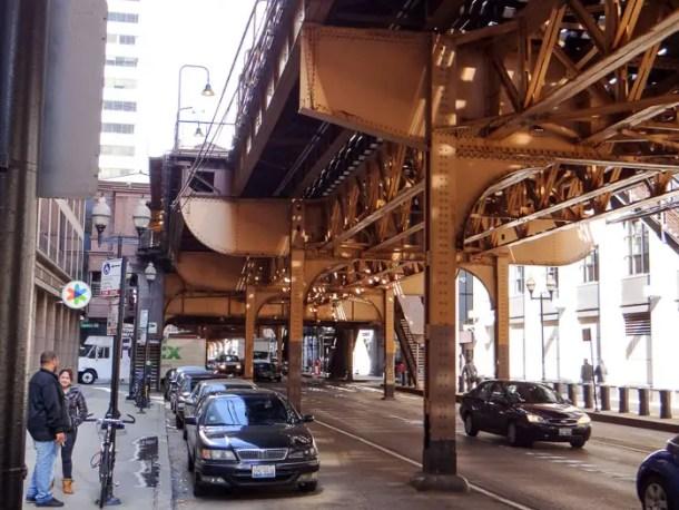Metrô elevado de Chicago