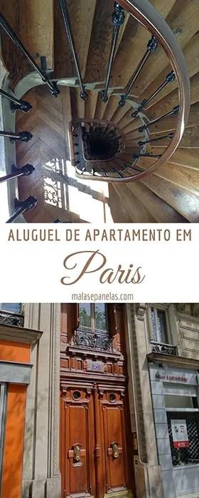 Aluguel de Apartamento em Paris | Malas e Panelas