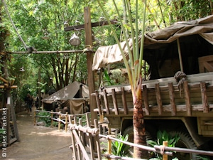 Entrada do Indiana Jones Adventure