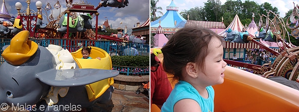 Altura atrações brinquedos Disney