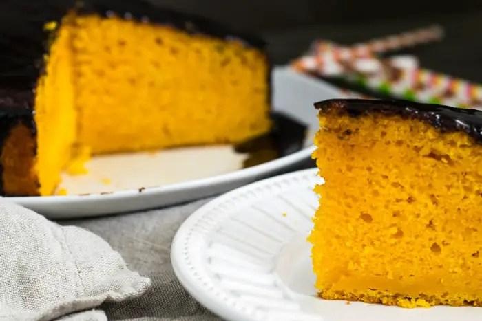 Bolo de Cenoura com Manteiga | Malas e Panelas