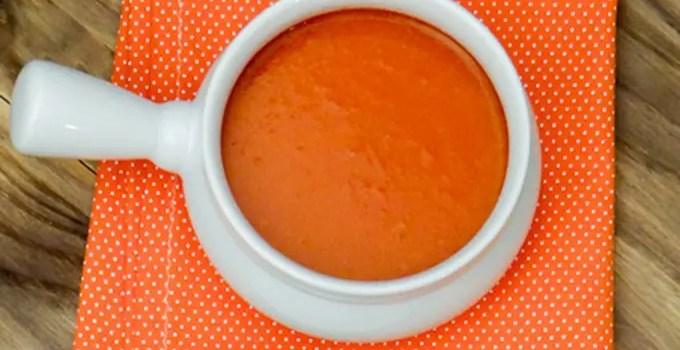 Receita: Sopa de Tomate