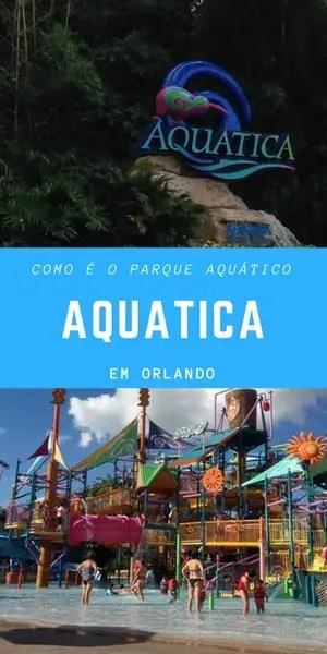 Como é o parque aquático Aquatica em Orlando | Malas e Panelas