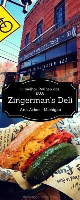 O melhor sanduíche Reuben dos EUA   Zingerman's Deli - Ann Arbor, MI