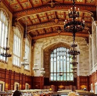 Campus central da University of Michigan em Ann Arbor