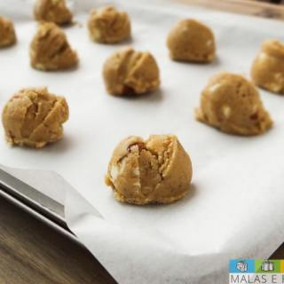 Receita: Cookies de Chocolate Branco e Amêndoas