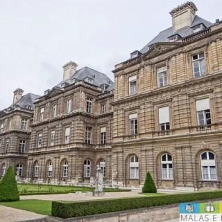 O esplendor do verão em Paris no Jardim de Luxemburgo