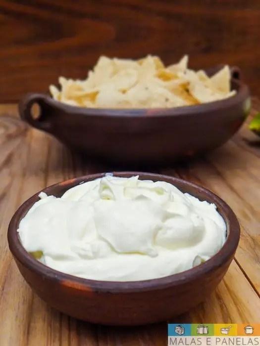 sour cream e tortilla chips