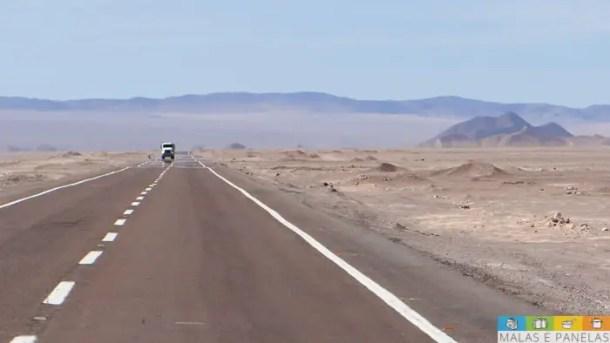 Na estrada entre Calama e San Pedro