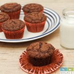 Receita: Muffin de Chocolate com gostinho de Brownie