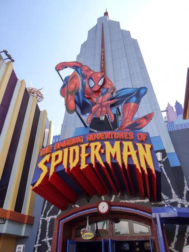 Aventuras com o Homem Aranha na Universal