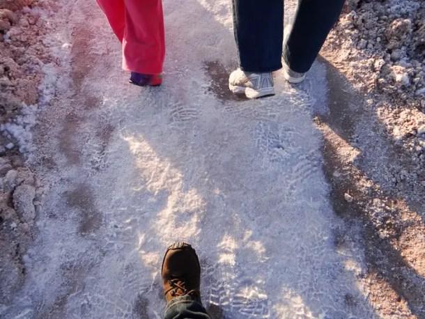 Caminho de sal :)