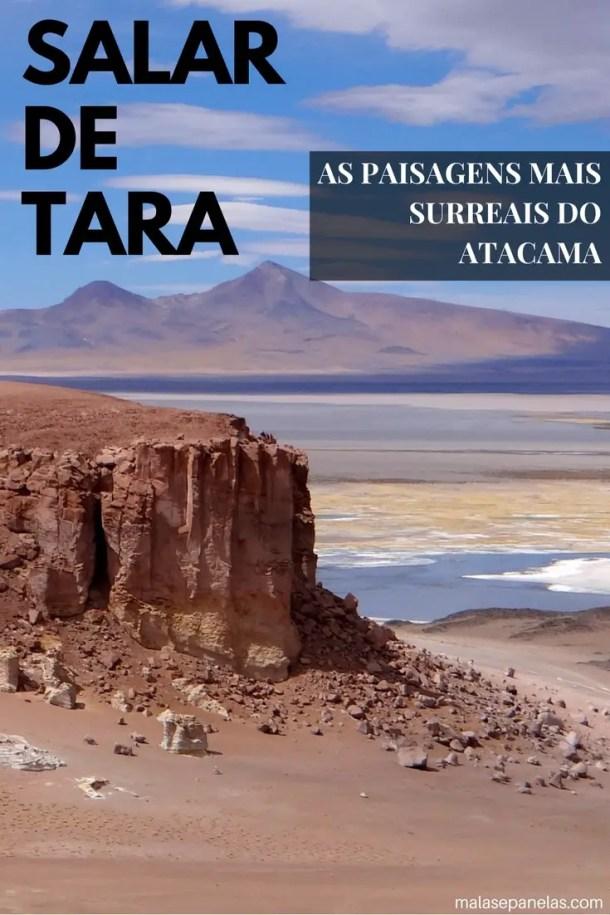 Salar de Tara - Atacama - Malas e Panelas