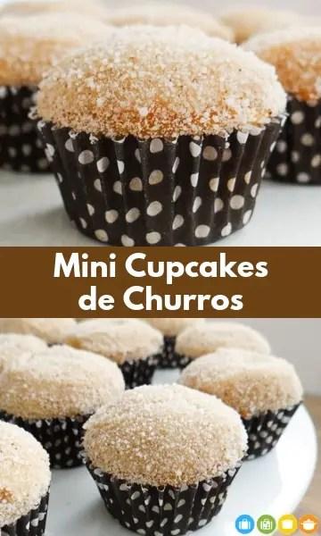 Mini Cupcakes de Churros | Malas e Panelas