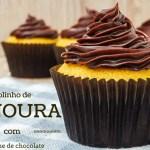 Bolinho de Cenoura com Ganache de Chocolate