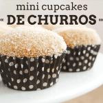 Receita: Mini Cupcakes de Churros
