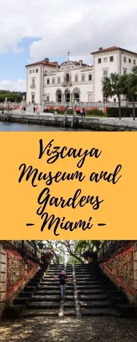 Vizcaya Museum and Gardens Miami - Malas e Panelas