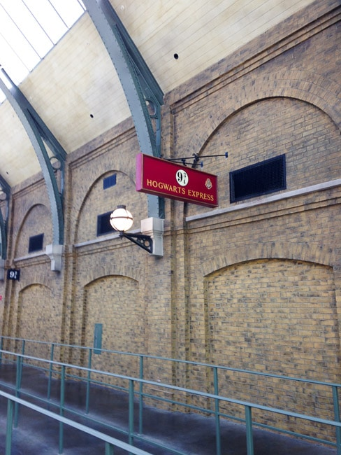 King's Cross plataforma 9 3/4