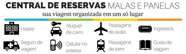 central de reservas