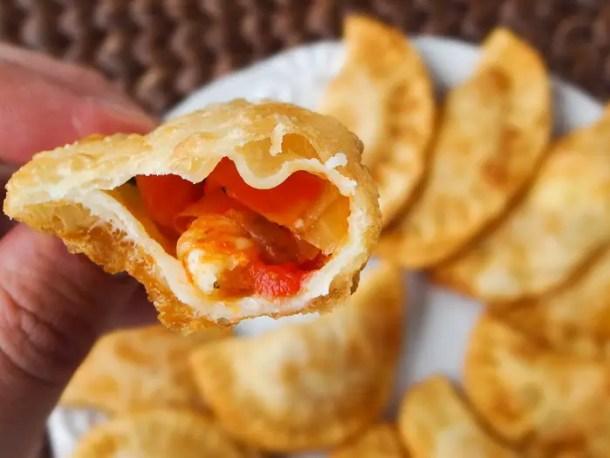 pastel de camarão - malas e panelas